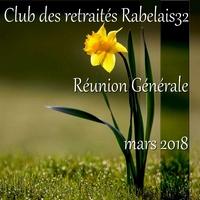Réunion Générale du 20 mars 2018