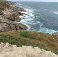 Sur le littoral Basque