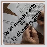 Attestation de déplacement dérogatoire à compter du 28 novembre 2020