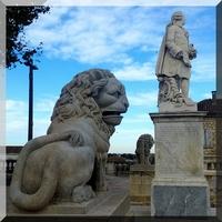 AUCH : les lions des Allées d'Etigny