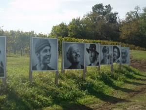 Portraits de Marcheurs, photos de J.M. Danard
